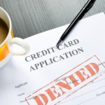 credit card application - denied
