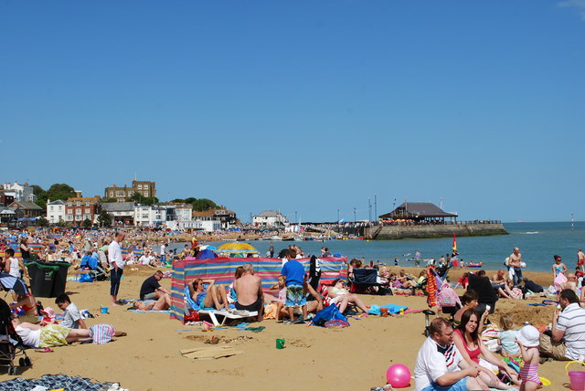 bank holiday beach