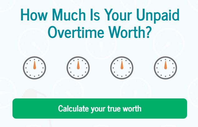 How Much Unpaid Overtime Do You Do Without Realising  Your Money